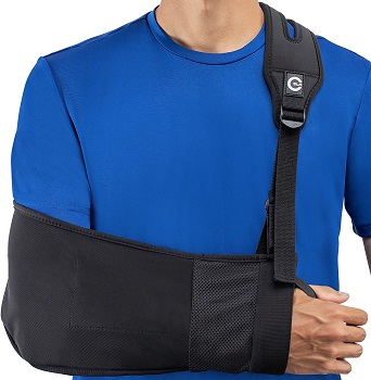 CUSTOM SLR Medical Arm Sling With Split Strap Technology