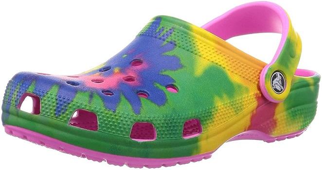 Crocs Unisex-Adult Classic Tie Dye Clog