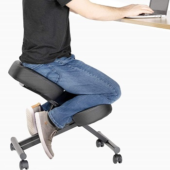 DRAGONN By Vivo Ergonomic Kneeling Chair