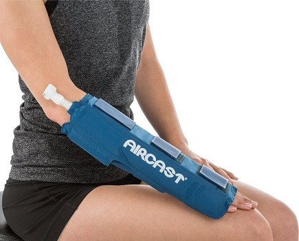 DonJoy Aircast Cryo/Cuff Cold Therapy: Hand/Wrist Cryo/Cuff