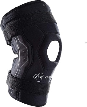 DonJoy Performance Bionic Knee Brace – Hinged, Adjustable Patella Support, Lateral / Medial Ligament (ACL, MCL, LCL)