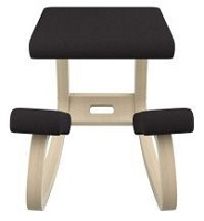 Double knee pad chair