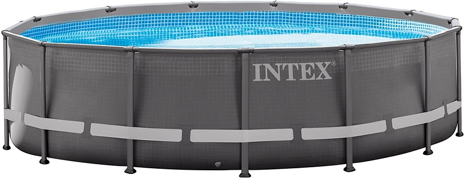 Intex 14ft X 42in Ultra Frame Permanent Above Ground Pool