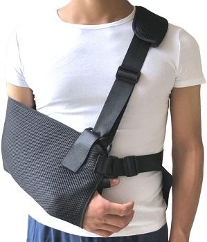 Jeelathy Arm Sling Shoulder Immobilizer