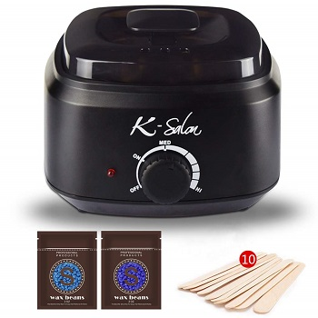 K-Salon Wax Warmer, 18 in 1 Hair Removal at Home