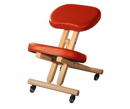Master Massage Comfort Wooden Kneeling Chair