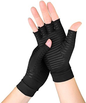 Meccus Copper Arthritis Gloves for Women/Men