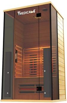 Medical Sauna 4 Full Spectrum   Home Sauna - 2 Person Indoor Infrared Sauna