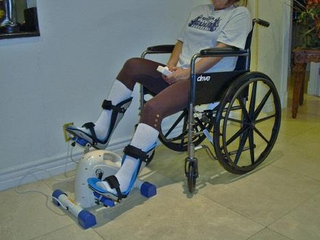Modini-Z-40 Sago Foot Splints Motorized Exercise Cycle/Bike