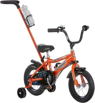 Schwinn Grit and Petunia Steerable Kids Bike, Boys and Girls Beginner Bicycle