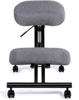 Single knee pad chair