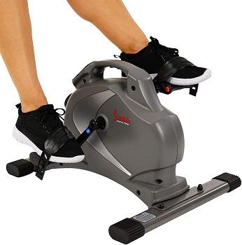 Sunny Health & Fitness SF-B0418 Magnetic Mini Exercise Bike