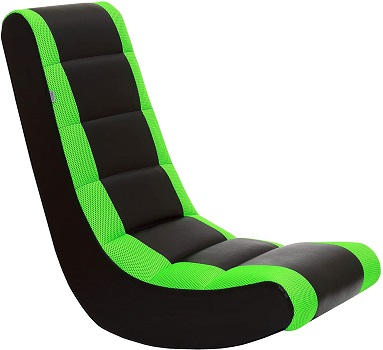 THE CREW FURNITURE Classic Video Rocker - Floor Chairs for Gaming