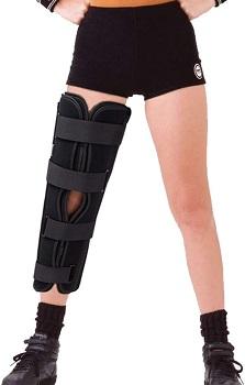 TODDOBRA Tri-panel Knee Immobilizer Full Leg Support Brace