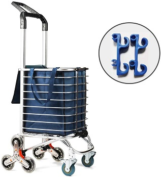 TUOMAN Shopping Cart Portable Utility Carts