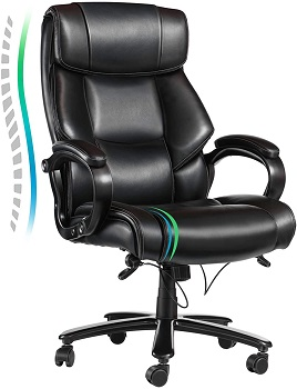 VANSPACE Big and Tall Executive Office Chair