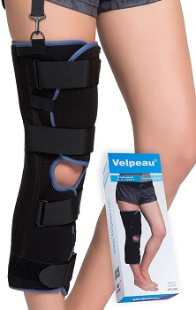 Velpou Knee Imobilizer Full Leg Brace