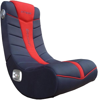 X Rocker Extreme III 2.0 Sound Wired Foldable Video Gaming Rocking Floor Chair