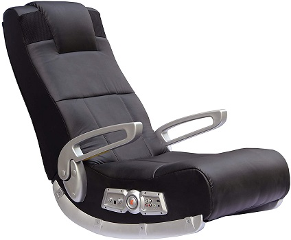 X Rocker II SE 2.1 Black Leather - Floor Chairs for Gaming
