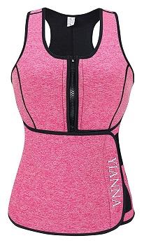 YIANNA Sweat Sauna Vest for Women