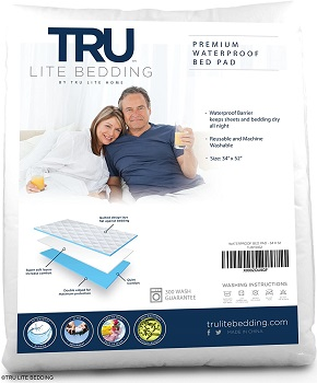 Bed Wetting Sheet Protector  by TRU Lite Home