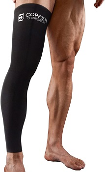 Copper Compression Full Leg Sleeve by Copper compression store