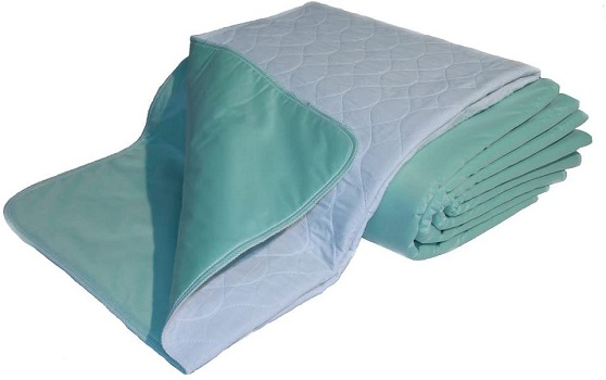 Premium Quality Bed Pad by Nobles Health Care - Waterproof Bed Sheet