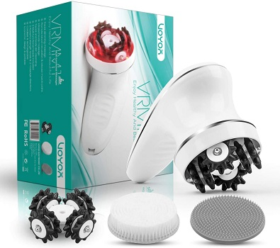 VOYOR Handheld Massager Cordless Deep Tissue Cellulite Massager for Face