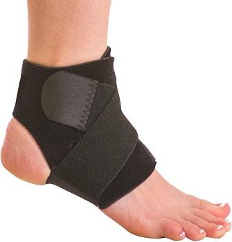 BraceAbility Neoprene Water-Resistant Foot Brace