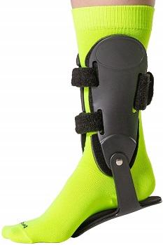 BraceAbility Rigid Hinged ankle Stabilizer