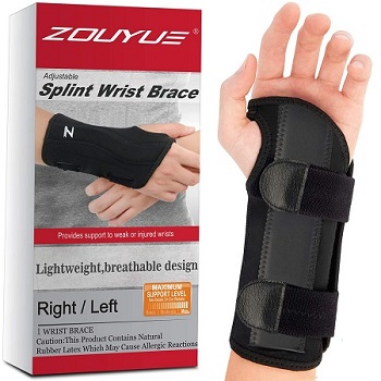 Carpal Tunnel Wrist Brace, Night Sleep Wrist Support