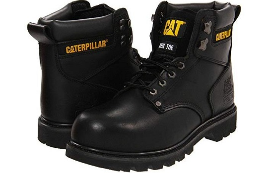 Caterpillar Mens 2nd Shift 6 Plain Soft Toe Work Boot