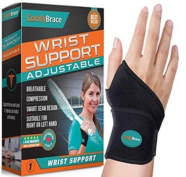 ComfyBrace-Premium Lined Wrist Support