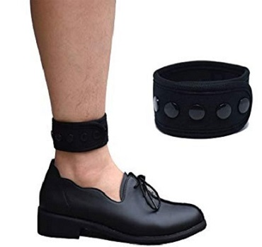 DDJOY Ankle Strap for Compatible with Fitbit& Garmin