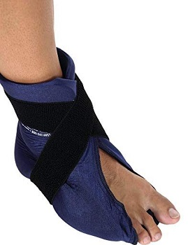 Elasto Gel Hot, Cold Wrap, Foot, and Ankle Wrap