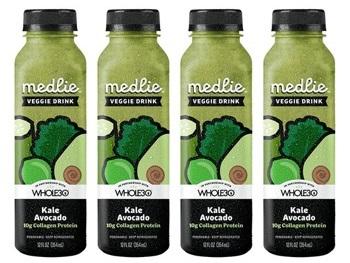 Medlie Organic Kale Avocado Collagen Drink