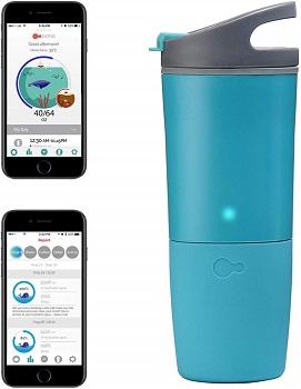 Ozmo Watertight Bluetooth Smart Water Bottle