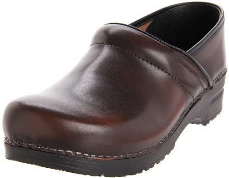 Sanita Womens Professional Cabrio Clog Non-Slip Restaurant Shoes