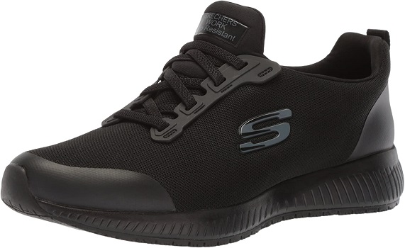 Skechers womens Squad SR non-slip restaurant shoes