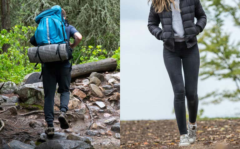 Difference Between Walking and Hiking