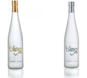 Bling H2O Frosted Collection – Most Expensive Water Bottle