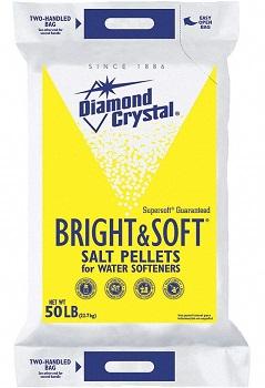 Diamond Crystal Water Softener Salt, Bright & Soft Series
