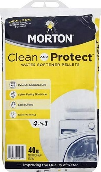 Morton Clean and Protect II Water Softening Pellets
