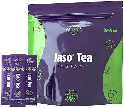 TLC Total Life Changes IASO Natural Detox Instant Herbal Tea