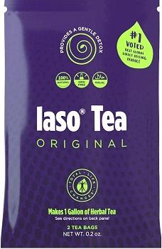 TLC Total Life Changes IASO Natural Herbal Detox Tea Bags - Single Pack