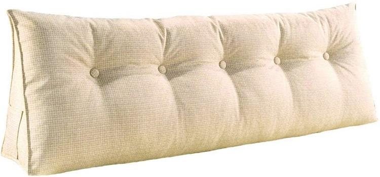 YXCSELL Filled Triangular Wedge Cushion Bed