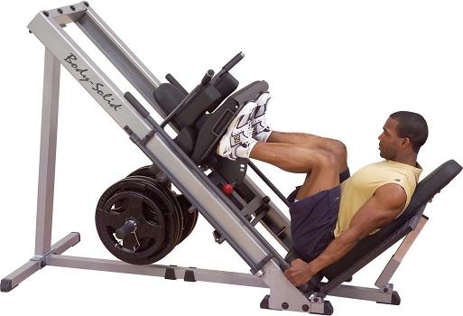 Body-Solid GLPH1100 Leg Press and Hack Squat