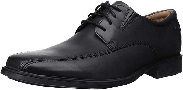 Clarks Men's Tilden Walk Oxford Shoes for Plantar Fasciitis
