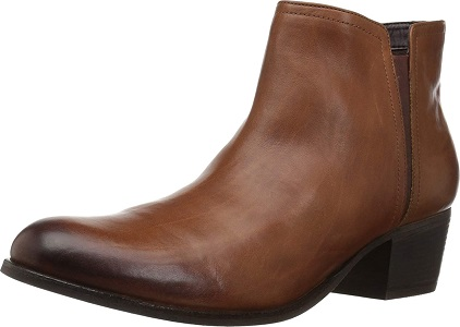 Clarks Women's Maypearl Ramie Ankle Bootie Shoes for Plantar Fasciitis