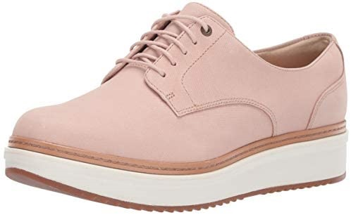 Clarks Women's Teadale Rhea Oxford Shoes for Plantar Fasciitis